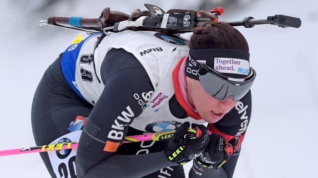 Lena Häcki (21) ha cuntanschì plaz 13 ad Oberhof.