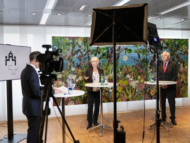 Moret und Stöckli im Interview.