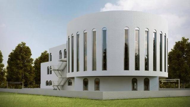 So könnte das Islamzentrum in Wil aussehen.