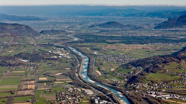 Das St. Galler Rheintal