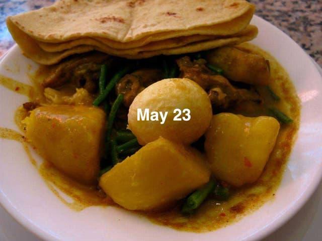 Eine weitere Mahlzeit im Leben von Hasan Elahi.