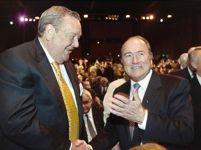 Blatter und Johansson