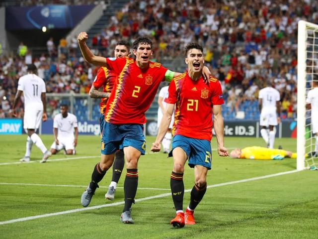 Die spanische U21 steht erneut im EM-Final.