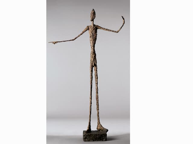 Alberto Giacomettis «zeigender Mann»