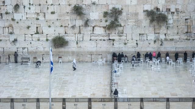 Leben in der heiligen Stadt: Die Klagemauer in Jerusalem