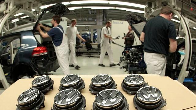 VW producescha pli paucs autos il mument.
