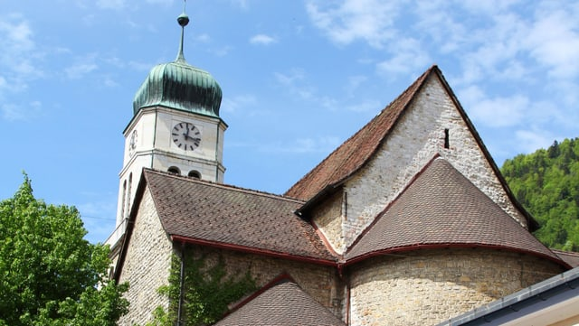 Video «Evangelisch-reformierter Auffahrtsgottesdienst aus Saint-Imier/BE» abspielen
