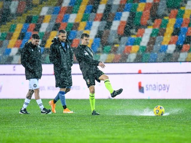 Regen in Udine