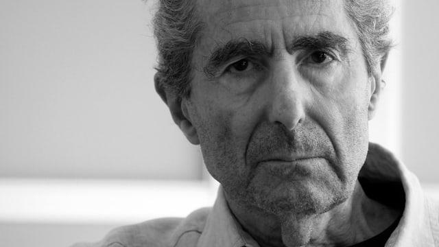 Porträt von Philip Roth.