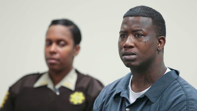 Gucci Mane bei seiner Gerichtsverhandlung