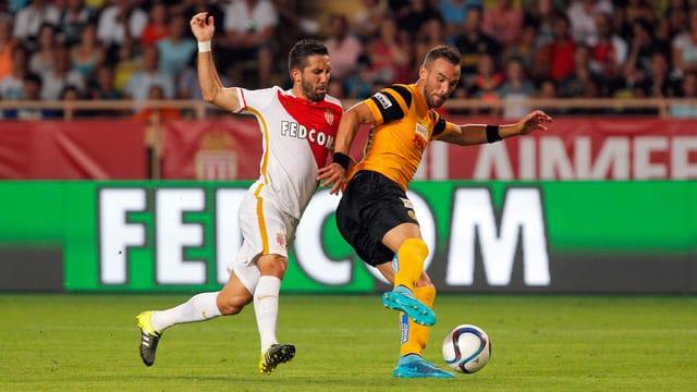 Scott Sutter in einem Spiel gegen Monaco 2015.