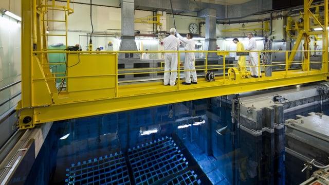 Reaktorraum