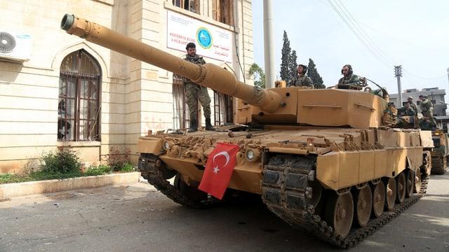 Die türkische Operation «Olivenzweig»
