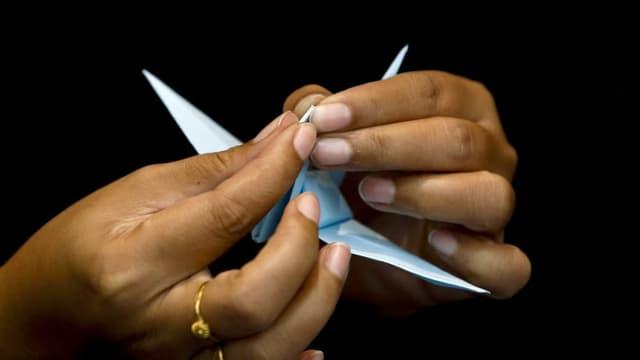 L'istorgia da l'origami en il Giapun