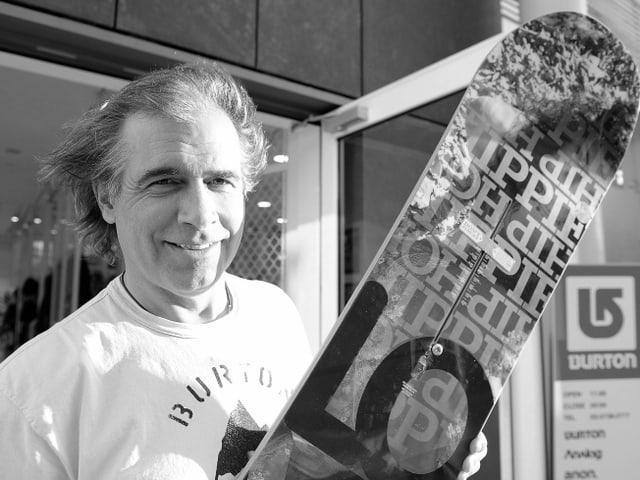 Jake Burton Carpenter hatte massgeblichen Einfluss auf die Entwicklung des Snowboards