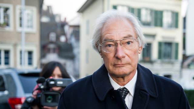 Rolf Erb avant la Dretgira superiura ils 15 da schaner 2014 a Turitg.