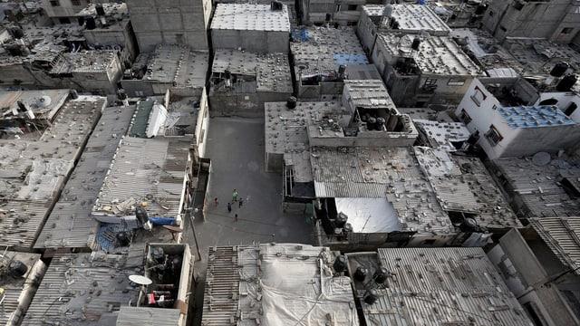 Mit rund 35'000 Bewohnern ist Jabalia laut UNO das grösste Flüchtlingslager im Gazastreifen.