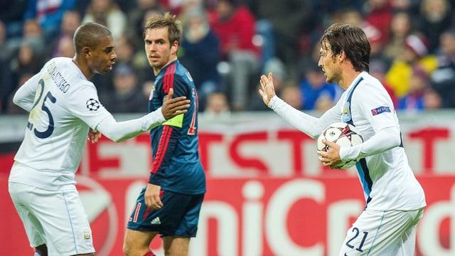 Bayern München und Manchester City.
