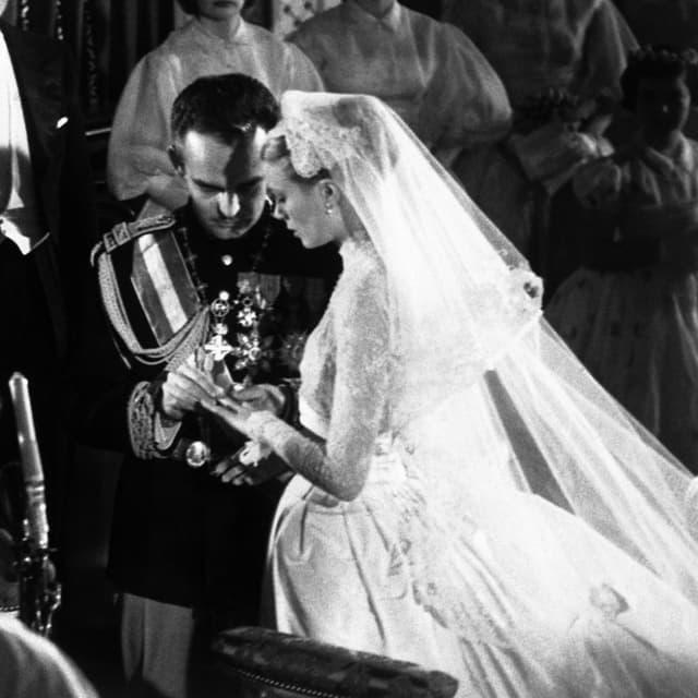Royal Diamanthochzeit Monaco Erinnert An Grace Kelly Und Furst
