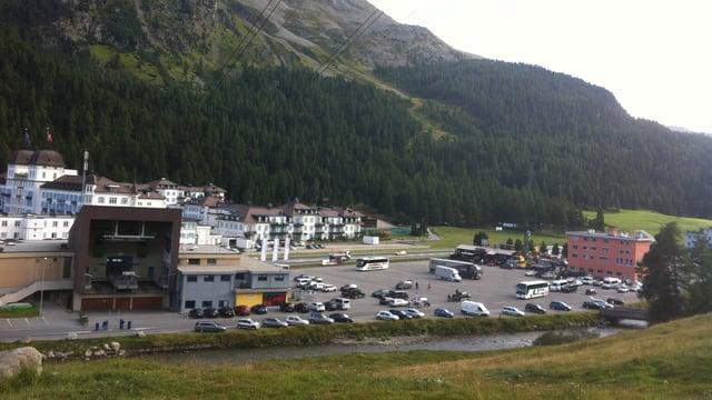 Signalbahn in St. Moritz