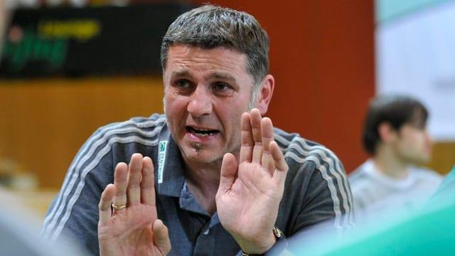 Wacker-Trainer Martin Rubin