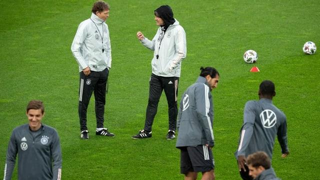 Training der deutschen Fussball-Nationalmannschaft.
