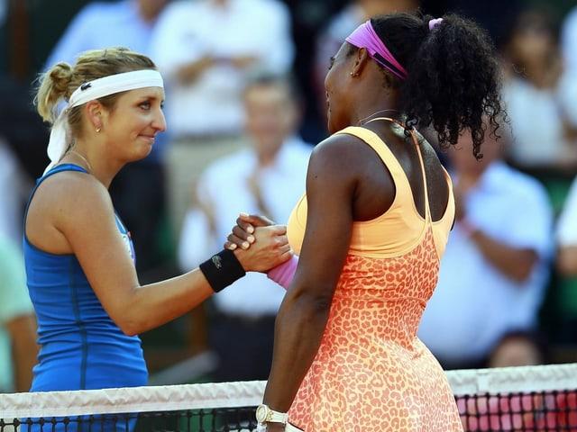 Timea Serena 2015 Roland Garros