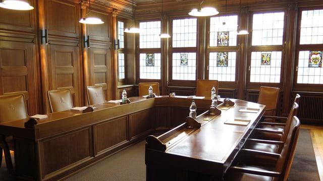 Zimmer des Regierungsrates in Herisau