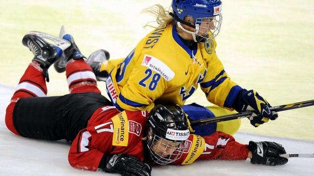 Die Schwedinnen waren den Schweizerinnen im Test überlegen.