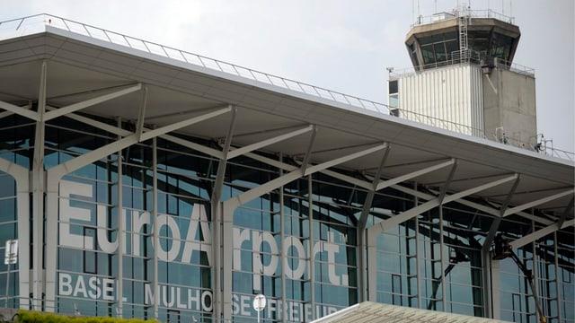 tur da controlla da l'EuroAirport a Basilea-Mulhouse
