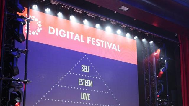 Logo am «Digital Festival» in Zürich