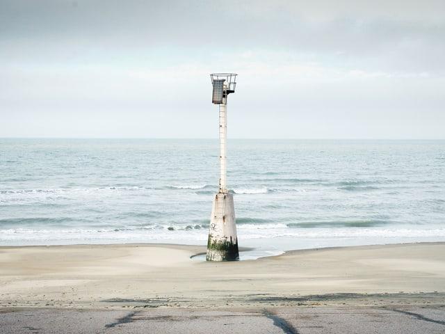 Wachturm an der Nordsee.