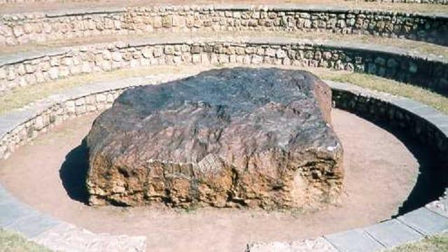 Meteorit en il sid da l'Africa