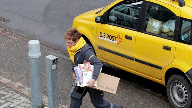 Il pot porta durant in fasa da test era la dumengia pachets a chasa.