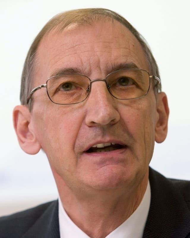 Guido Vergauwen, Rektor der Universität Freiburg.