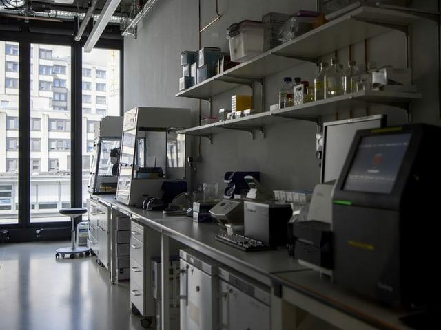 Einsicht ins Labor
