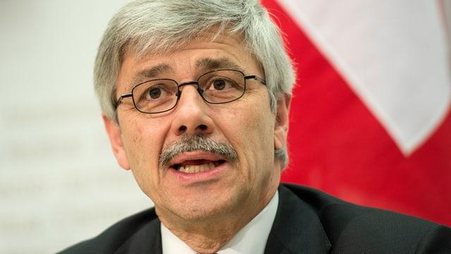 Regierungsrat Carlo Conti