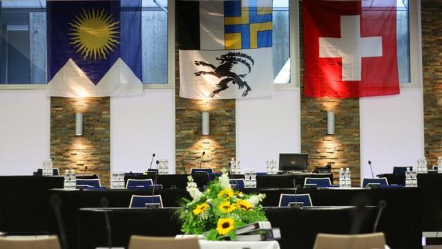 Ils proxims dis debattescha il Cussegl grond en il center da sport e congress ad Arosa.