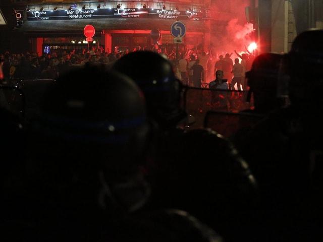 Fans in der nordfranzösischen Stadt Lille.