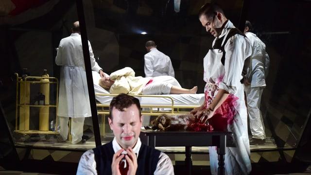 Szene aus der Basler Inszenierung von «Donnerstag aus Licht».