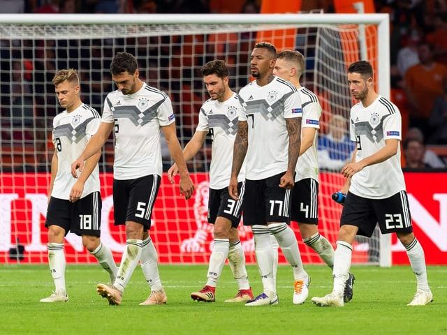 Enttäuschte Deutsche
