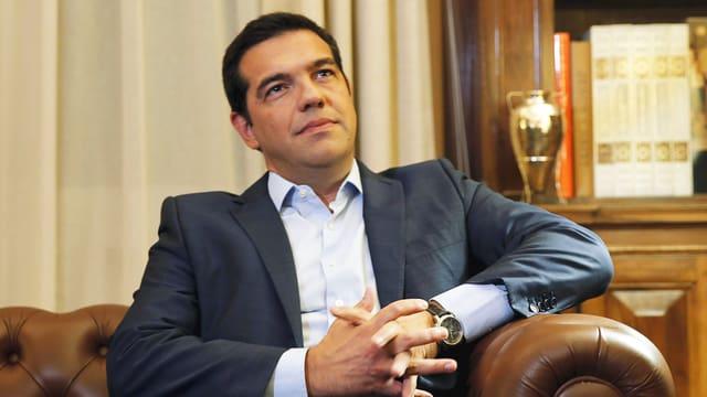 Griechenlands scheidender Ministerpräsident Alexis Tsipras