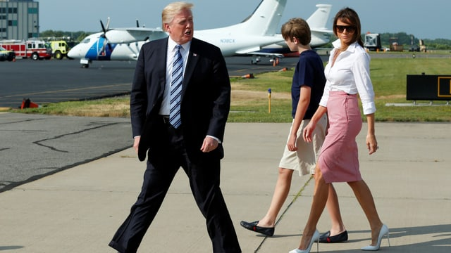 Die Familie Trump.