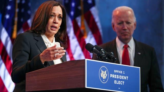 Harris und Biden.