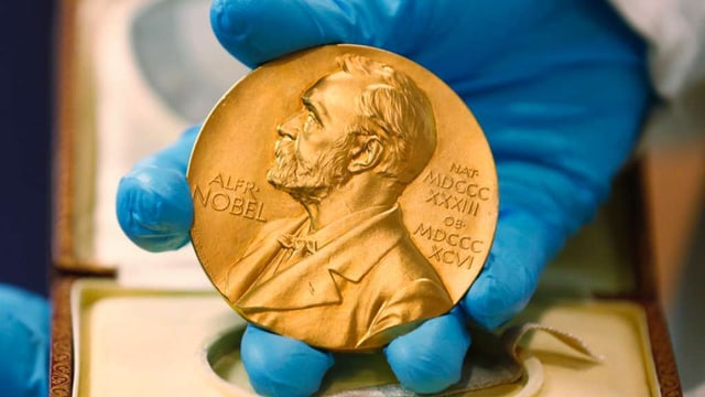 medaglia premi nobel