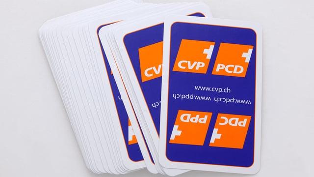 CVP-Kartenspiel.