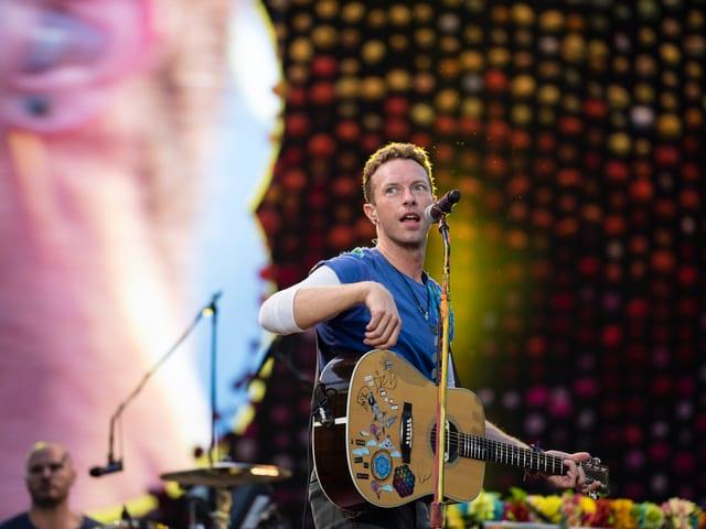 Coldplay live aus dem Letzigrund.