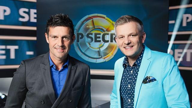 Video ««Top Secret» – Das Prominentenspecial mit Rainer Maria Salzgeber» abspielen