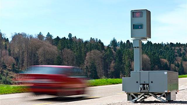 mobiles Radargerät