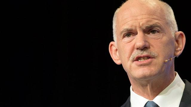 Ex-Regierungschef Giorgos Papandreou.